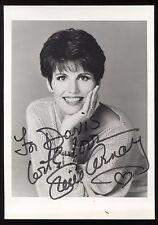 Lucie Arnaz Signed Vintage Photo Autographed AUTO Signature