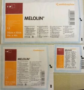 Melolin low-adherent absorbent dressings, please  pick size and quantity