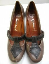 """Jeffrey Campell 3"""" Heels Shoes Size 10 Gray Casual Comfort Mary Jane"""