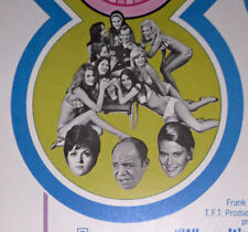 WHERE IT'S AT orig1969 ROLLED movie poster DON RICKLES/CAESAR'S PALACE/LAS VEGAS