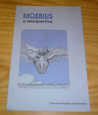 Moebius: A Retrospective #1 VF/NM cartoon art museum - limited to only 2,500