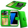 Clip On PU Leather Flip Wallet Book Case Cover For Various Landvo Smart Phones