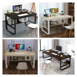Computer Desk Laptop Pc Study Table Home Office Desk Furniture Workstation Large