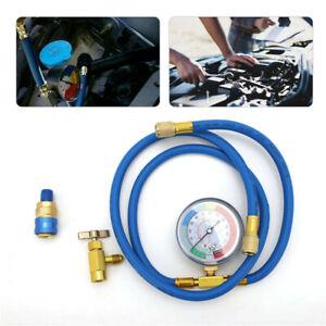 R134A Auto Klimaanlage Kältemittel Füllschlauch Ladeschlauch Druckmanometer