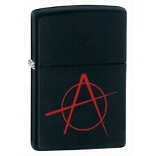 Zippo Anarchy Black Matte Windproof Lighter