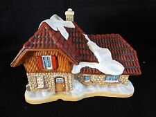Hawthorne Village Hummel Lighted Building ~ All Aboard ~ Nib with Coa