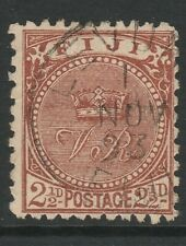 FIJI 1892 SG 84 FINE USED CAT £40