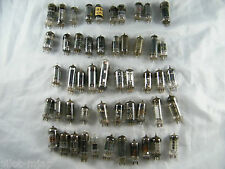 Vintage ~ Lot Of 50 ~ Electronic Tubes ~ Untested ~ Some Missing Numbers ~ Oeg