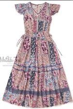 NWT Womens Matilda Jane Camp MJC Wildlife Maxi Dress Size XL X large RV$98