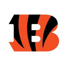 """Cincinnati Bengals NFL Sticker Decal indoor - outdoor - car-  truck - 3.5""""x4.5"""""""