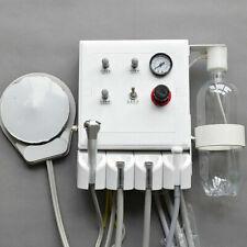 Portable Dental Turbine Unit 3 Way Straw Wall Mounted 2 Holes Weak Suction Usa