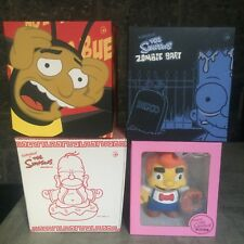 Kidrobot The Simpsons Lard Lad Homer Buddah Zombie Bart Unopened Vinyl Figure 7