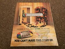 """(RSM07) ADVERT/POSTER 12X10"""" TRIVIA PURSUIT ELECTRONIC HAND HELD GAME"""