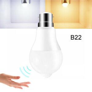 E27 B22  LED PIR Motion Sensor Lamp Bulb Globe Auto ON/OFF Energy Saving Light