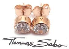 Thomas Sabo Ohrstecker rosé vergoldet 925er Sterling Silber H1670-416-14