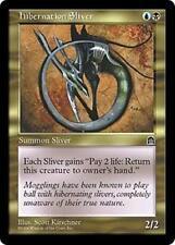 HIBERNATION SLIVER Stronghold MTG Gold Creature — Sliver Unc