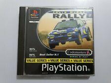 Colin McRae RALLY PlayStation 1 (ps1) PAL España COMPLETO disco PLATINUM Leer!