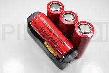4 PILES ACCU RECHARGEABLE 7200mAh 26650 3.7V Li-ion BATTERIE BATTERY + CHARGEUR