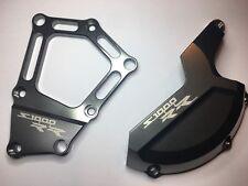 BMW S1000RR Motorschutz chrashpad Motorrad protection Sturzpad tuning neu alu
