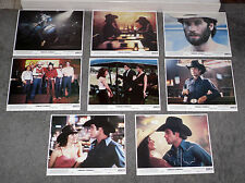 URBAN COWBOY original 1980 color lobby photos set JOHN TRAVOLTA/DEBRA WINGER