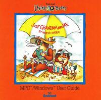 LIVING BOOKS JUST GRANDMA AND ME +1Clk Windows 10 8 7 Vista XP Install