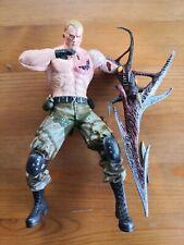 Resident Evil 4 Jack Krauser Figure Action Zombie Rare Biohazard Toy Capcom