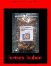 larmes louben - encens en grains - voyance - magie blanche - protection  50g