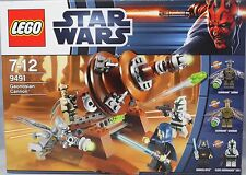 Lego Star Wars 9491 Geonosian Cannon mit 4 Figuren NEW  NEU