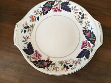"""Pretty Vintage Grindley China - 10.5"""" x 9.5"""" Cake Plate"""