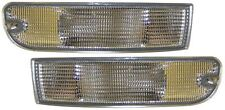 PORSCHE 911 993 SERIES 94-97 CLEAR FRONT INDICATOR REPEATER LIGHTS