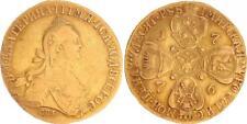 Russland 10 Rubel 1776 Gold Katharina II. ss/ss-vz