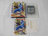 Y2449 Nintendo Gameboy Color Rockman X Cyber Mission Megaman Japan GB GBC w/box