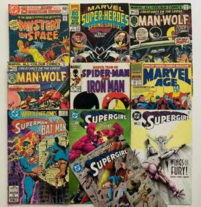 Massive job lot comics over 100 issues great lot Bronze age to Modern Marvel, DC