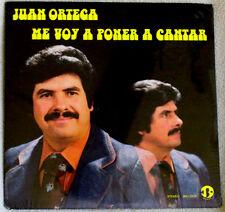 Juan Ortega Me Voy A Poner A Cantar 1980 JBO Records LATIN GOSPEL Sealed LP