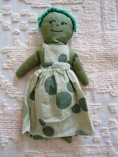 Vintage Artist Made Cloth Doll Handmade Rag Doll