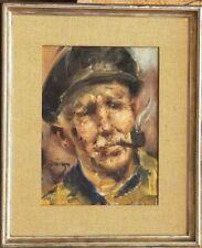 Tableau ancien Portrait vers 1930 / 1950 signature?