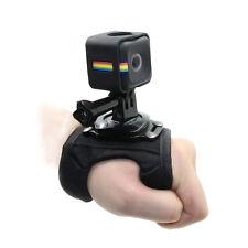 TELESIN Glove Wrist Band Hand Strap w/ Frame Mount Adapter for Polaroid Cube+