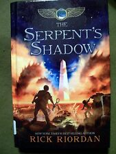 The Kane Chronicles: The Serpent's Shadow Bk. 3 by Rick Riordan (Large Print HC)