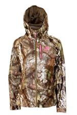 Mossy Oak Hunting Camo  Women Scent Control Lightweight Water Resistant Jacket