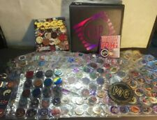 HUGE POG Collection in Pog Book with Slammers X722