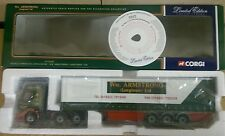 Corgi CC12102 Renault Premium Curtainside W M Armstrong Ltd Ed No. 0002 of 4000