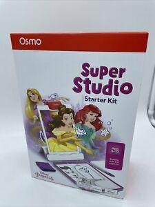 NIB Osmo DISNEY PRINCESS Super Studio Starter Kit For iPad Ages 5-10