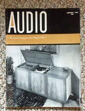 Jan 1963 Audio Magazine