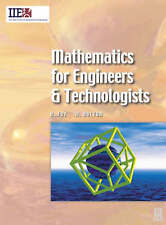 Mathematics for Engineers and Technologists by W. Bolton, Huw Fox (Paperback, 2002)