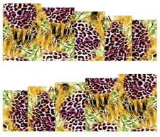 Nail Art Stickers Transfers Decals Leopard Skin Print (A-112)
