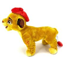"Authentic Disney Store Lion Guard Kion Lion King 16"" Stuffed Plush Toy"