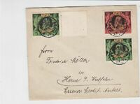 germany 1911 bavaria stamps cover  ref r13523