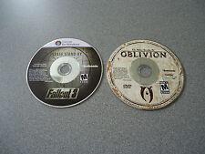 Fallout 3 WIN Vista/XP & FREE The Elder Scrolls IV Oblivion WIN 2000/XP   PC
