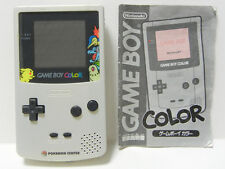 """Game Boy Color Pokemon Center Limited Edition Handheld System"" & Manual"