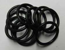 """Set of 10 Rubber """"O"""" Rings 23.47mm I/D x 29.37mm O/D  BS912"""